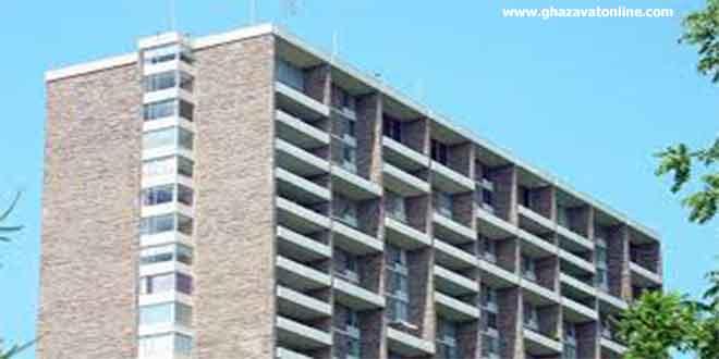 ساختمان آپارتمان