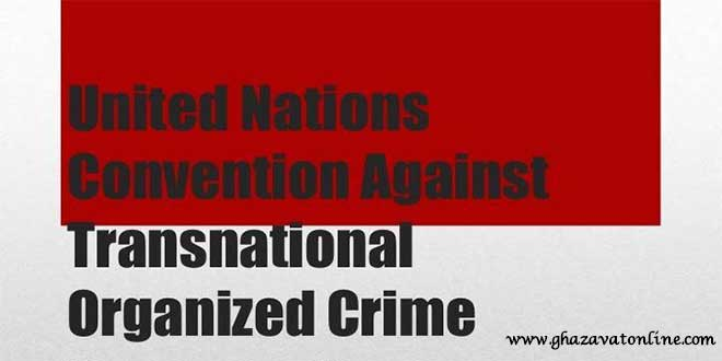 معاهده مبارزه با جرائم سازمان یافته فراملی