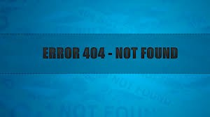 خطاي 404 در سايت